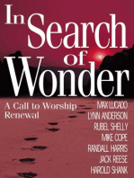 In Search of Wonder