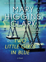 Two Little Girls in Blue