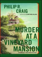 Murder at a Vineyard Mansion: Martha's Vineyard Mystery #15