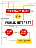 The Private Abuse of the Public Interest