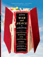 Give War and Peace a Chance