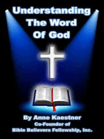 Understanding The Word of God