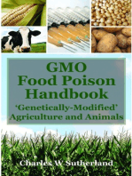 GMO Food Poison Handbook: 'Genetically Modified' Agriculture and Animals