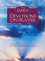 365 Daily Devotions on Prayer