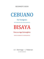 Cebuano for Foreigners: With Exercises and Audio (Separate)