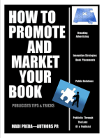 How To Promote and Market Your Book