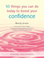 50 Things You Can Do Today to Boost Your Confidence