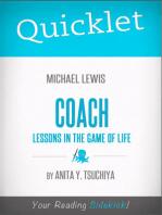 Quicklet on Michael Lewis' Coach