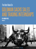 The Best Book On Goldman Sachs Sales And Trading Internships