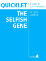 Quicklet on Richard Dawkins' The Selfish Gene (CliffNotes-like Book Summary & Analysis)