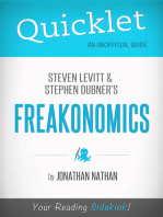 Quicklet on Freakonomics by Stephen D. Levitt & Stephan J. Dubner