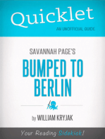 Quicklet on Savannah Page's Bumped to Berlin (CliffNotes-like Summary)