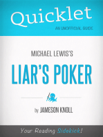 Quicklet on Liar's Poker by Michael Lewis
