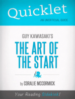 Quicklet On Guy Kawasaki's The Art of the Start