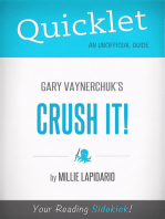 Quicklet On Gary Vaynerchuk's Crush It! (CliffsNotes-like Book Summary)