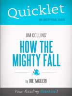 Quicklet on Jim Collins' How the Mighty Fall (CliffsNotes-like Book Summary)