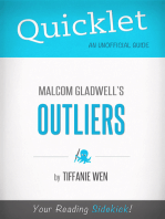 Quicklet On Outliers By Malcolm Gladwell (CliffNotes-like Book Summary): An overview of the book's context