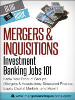Investment Banking Jobs 101: Know Your Product Groups
