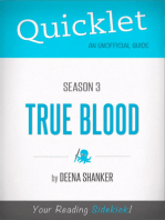 Quicklet on True Blood Season 3 (CliffsNotes-like Book Summary)