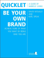 Quicklet on David McNally and Karl Speak's Be Your Own Brand