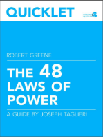Quicklet on Robert Greene's The 48 Laws of Power (CliffNotes-like Book Summary and Analysis)