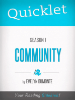 Quicklet on Community Season 1 (TV Show)