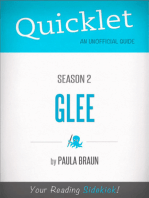 Quicklet on Glee Season 2 (CliffsNotes-like Summary, Analysis, and Commentary)