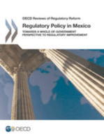 Regulatory Policy in Mexico:  Towards a Whole-of-Government Perspective to Regulatory Improvement