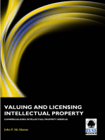 Valuing and Licensing Intellectual Property