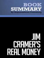 Jim Cramer's Real Money  James Cramer (BusinessNews Publishing Book Summary)