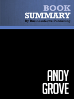 Andy Grove  Richard Tedlow (BusinessNews Publishing Book Summary)