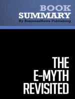 The EMyth Revisited  Michael E. Gerber (BusinessNews Publishing Book Summary)