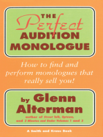 The Perfect Monologue Book