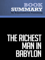 The Richest Man in Babylon  George S. Clason (BusinessNews Publishing Book Summary)