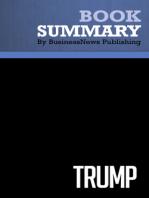 Trump  Donald Trump (BusinessNews Publishing Book Summary)