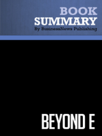 Beyond E  Stephen Diorio (BusinessNews Publishing Book Summary)
