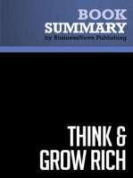 Think and Grow Rich  Napoleon Hill (BusinessNews Publishing Book Summary)