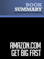 Amazon.com Get Big Fast  Robert Spector (BusinessNews Publishing Book Summary)