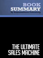 The Ultimate Sales Machine  Chet Holmes (BusinessNews Publishing Book Summary)