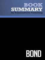 Bond  Terence Maher (BusinessNews Publishing Book Summary)
