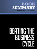 Beating The Business Cycle  Lakshman Achuthan and Anirvan Banerji (BusinessNews Publishing Book Summary)