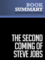 The Second Coming of Steve Jobs  Alan Deutschman (BusinessNews Publishing Book Summary)