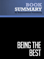 Being The Best  Denis Waitley (BusinessNews Publishing Book Summary)