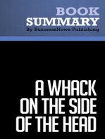 A Whack on the Side of the Head  Roger Van Oech (BusinessNews Publishing Book Summary)