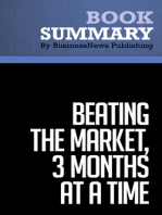 Beating the Market, 3 Months at a Time  Gerald Appel and Marvin Appel (BusinessNews Publishing Book Summary)