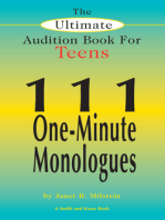 The Ultimate Audition Book for Teens Volume 1