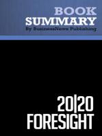 20 20 Foresight  Hugh Courtney (BusinessNews Publishing Book Summary)