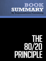 The 80/20 Principle  Richard Koch (BusinessNews Publishing Book Summary)