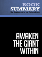 Awaken the Giant Within  Anthony Robbins (BusinessNews Publishing Book Summary)