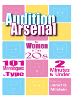 Audition Arsenal for Women in their 20's